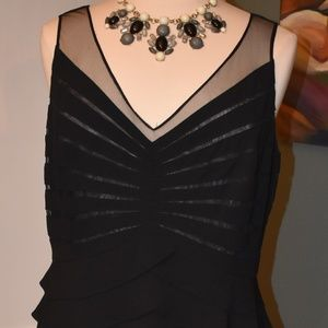 Gorgeous Adrianna Papell Illusion Dress